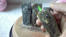 Factory price cigar cutter Kitchen Lighters werewolf, torch lighters flame gun. lighters are no gas, no fuel!