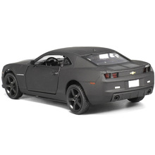 New Licensed Diecast Metal 1:36 Scale Car Model For The Chevrolet Camaro Collection Alloy Model Pull Back Toys Car Matte Black(China)
