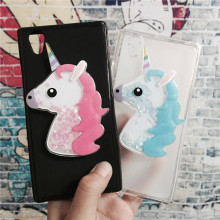 Buy 3D Unicorn Quicksand Liquid Soft Silicone Case Lenovo P70 P70T P70-T Phone Cover Cartoon Diamond Funda Coque Fashion for $3.46 in AliExpress store