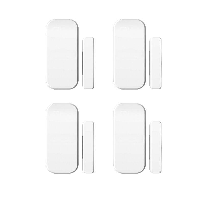 4pcs Intelligent Wireless Door Gap Window Sensor Wireless Non-antenna Door Magnetic Sensor Detector For 8218G G15 X1 System<br><br>Aliexpress