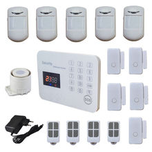 120 Zone Wireless Gsm Alarm Systems Security Home Alarme System SMS Call With Voice LCD, 2 Wired Zone Androd App Control(Hong Kong)