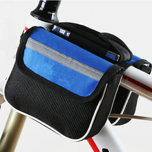 Buy MTB Road Bicycle Bike Bags Rainproof Cycling Top Front Tube Frame Bags 5.8/6.0 Phone Case Reflective Strip Bike Accessories for $5.99 in AliExpress store