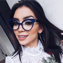 CCSPACE GORGEOUS Retro Square Ladies Glasses Frames Cat Eye Women Brand Designer Optical EyeGlasses Fashion Eyewear 45143(China)