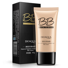 BIOAQUA Brand 3 Colors Natural Flawless BB Cream Makeup Concealer Oil-control Liquid Foundation Moisturizing Cosmetics 40ml(China)