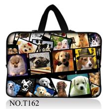 "Lovely Dogs Netbook Laptop Sleeve Case Bag Pouch For 13"" inch 13.3"" Macbook Pro / Air(China)"