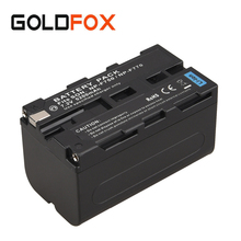 For Sony NP-F750 NP-F770 5200mAh Backup Rechargeable Digital Battery NP F750 F770 Camera Replacement Li-ion Batteria Bateria
