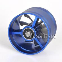 MAYITR New Blue F1-Z Air Intake Fan Supercharger Turbo Turbine Fuel Gas Saver Fan Air Intake System Parts Car Accessories