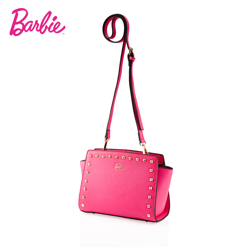 2018 Barbie Women Shoulder Bag brand style Rivet small Leather bags women new fashion Bags Crossbody Bags for Women <br>
