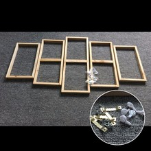 5 Pcs/Set Group Painting Wooden Inner Frame/Ready To Hang Wood Frames For Canvas Painting