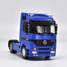 High simulation truck, 1: 32 engineering car,Tractor Trailer European Truck Actros,Advanced model,free shipping