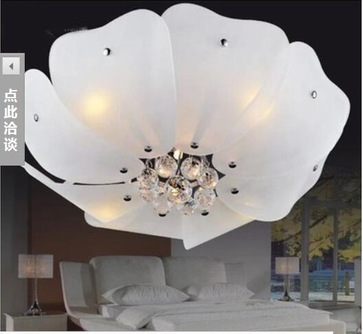LED 50*50cm Contemporary And Contracted Low-Key Costly Led Crystal Light Cornucopia Lotus Absorb Dome Light<br><br>Aliexpress