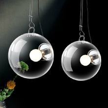 Modern Italian style soap bubble design LED Pendant Lighst lamps Ac-90-260v glass lighting fixtures for bed room kitchen bar(China)