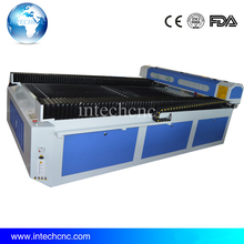 best service 1300*2500 hand laser cutting machine