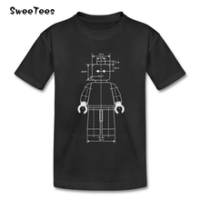 Everything Is Awesome Boys Girls T Shirt Pure Cotton Short Sleeve O Neck Tshirt children's Garment 2017 Popular T-shirt For Kids