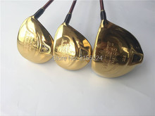 Boyea Maruman Majesty Prestigio 9 Wood Set Golf Woods Golf Clubs Driver +Fairway Woods R/S/SR Flex Graphite Shaft With Cover(China)