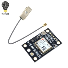 Buy WAVGAT GY-NEO6MV2 New NEO-6M GPS Module NEO6MV2 Flight Control EEPROM MWC APM2.5 Large Antenna arduino for $1.20 in AliExpress store