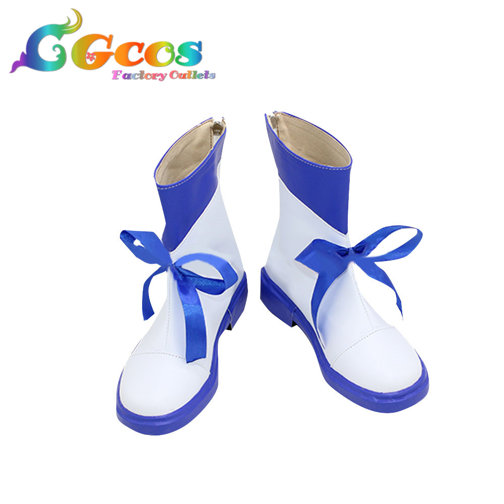 CGCOS Free Shipping Cosplay Shoes Love Live Sunshine Mari Ohara  Boots Anime Game Halloween Christmas