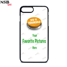 NSBuni For IPHONE 7PLUS / 8PLUS High Quality Personal Custom-made Cases DIY 2D PC TPU or 3D Sublimation Mobile Phone Covers(China)