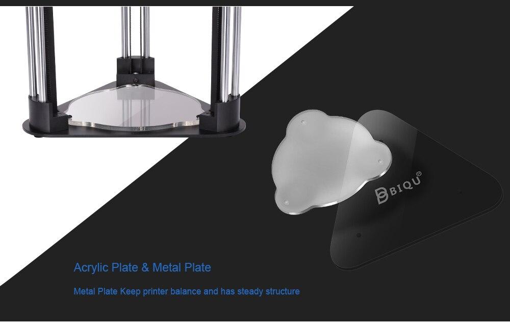 Pre-sale BIQU MAGICIAN full assembly desktop 3D Printer 2.8 inch touch screen Titan extruder 32 bits control board kossel delta