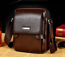 Genuine Leather Men Bags Small Crossbody Shoulder Handbag Casual Man Leather Messenger Mini Bags Male Bag
