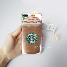 Starbucks Case Coffee Keep Calm Cup Cake Wood ice Cream for iphone 7 6 5S 6S Plus 7plus 5 SE Silicon Soft TPU Transparent Fundas
