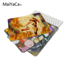 MaiYaCa Funny Cute Lovely Pokemon Cartoon Game Series Mouse Mats Anti-Slip Rectangle Mouse Pad Customized Supported(China)