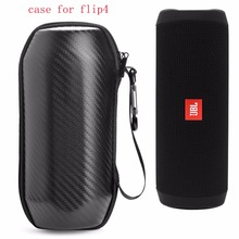 New Portable Travel Case for JBL Flip4 Flip 4 Wireless Bluetooth Speaker Case Protective Case EVA Cover High-grade Carbon Fiber(China)
