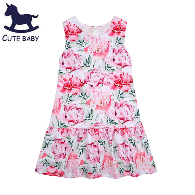 Girls Dress Children Clothes Toddler girl Clothing 7-8-9-10Y Evening dresses Everything for children Clothing and accessories<br><br>Aliexpress