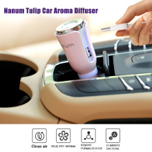 New Design MINI Portable DC 12V Car Humidifier Healthy Aroma Clean Air Fragrance Sheet Add Essential Oil Diffusering(China)