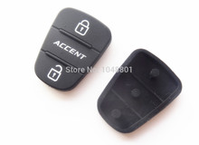 50pcs New Car key Pad for Hyundai Accent Kia Remote Key Shell Blank Fob Cover Rubber Pad