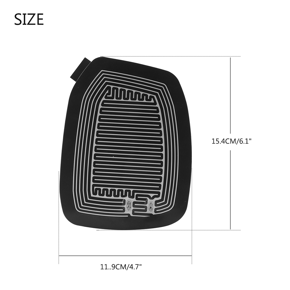 Heat Vehicle Rear View Mirror Heated Pad With Accessories Remove Fog 2002 Mitsubishi Lancer Passenger Compartment Fuse Box Diagram 5 6 7 3 15