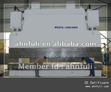 WC67Y Hydraulic bending machine/8000 mm press brake