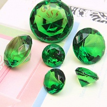 XXL Acrylic Jumbo 40mm Gemstone Table Scatter Confetti Diamonds Wedding Table Deco 10pcs  11 colors For U pick