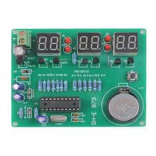 DIY Kit Module 9V-12V AT89C2051 6 Digital LED Electronic Clock Parts Components Diy Electronic Kits