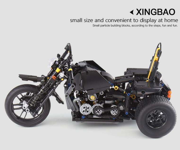 Xingbao XB-03020 Harley Davidson Motorcycle Building Block 37