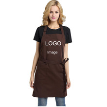 Fashion Kitchen Cooking Apron For Men Women Custom Work Clothes Coffee Tea Shop Chef Adult Creative Waist Home Aprons Logo free