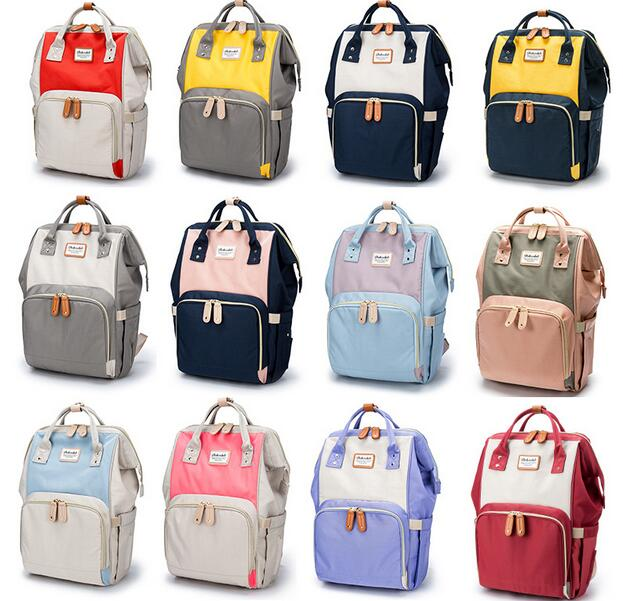 Fashion Mummy Maternity Nappy Bag Brand Large Capacity Baby Bag Travel Backpack Desinger Nursing Bag for Baby Care<br>