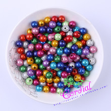 Hot Sell Free Shipping 500pcs/lot 8mm Chunky Color Miracle Bead Mix Colors Beads For Handmade Jewelry Ebay Suppliers CDWB-515038