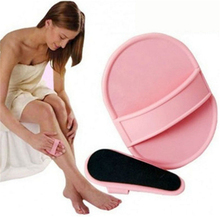 Hot Useful Adhensive Smooth Skin Exfoliator Removal Tool Painless Leg Arm Smooth Pads Hair(China)