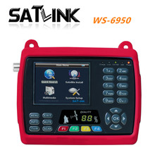 [GENUINE]Digital satellite finder meter satlink ws6950  Digital terrestrial signal search  satlink  ws-6950 satellite finder