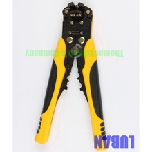 HS-D5 AWG24-10 (0.2-6.0mm2 ) design Multifunctional automatic stripping pliers Cable wire Stripping Crimping tools Cutting LUBAN