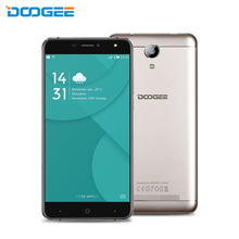 Original DOOGEE X7 Android 6.0 MTK6580 Quad Core 6.0 inch 2.5D HD IPS Screen RAM 1GB ROM 16GB 3G WCDMA Dual SIM Mobile Phones