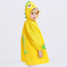 Cute Kids Rain Coat Children Raincoat Rainwear/Rainsuit,Kids Waterproof Animal Raincoat Student Poncho Rain Gear Rain Jacket