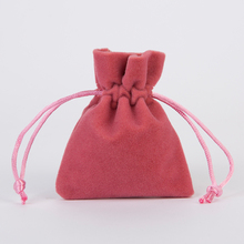 Jewelry Packing Velvet bag 7x9cm 9x12cm Thickend Soft Gift Drawstring Pouch Christmas Birthday Party Wedding Favor Holder 100pcs