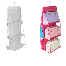 Large-capacity Multi-layer Hanging Purse Storage Bag Closet Rack Women Handbag Hangers Home Storage Pouch