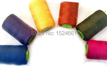 AX93   Wire  Cord   Sewing thread color line 3000 yards *leather sewing thread waxed thread for leather nylon thread