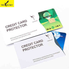 Paper card cover wholesale 2pcs/set Smart Credit Card holder 2016 New Arrival RFID Blocking Hot sale 13591 Free shipping(China)