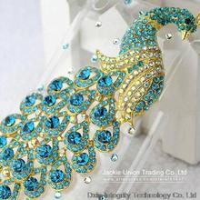 Wholesale Bling Blue Peacock Crystal Rhinestone Diamond Back Cover For Apple iPhone8 3G 4S 5S SE 6S PLUS 7s PLUS BLING cases