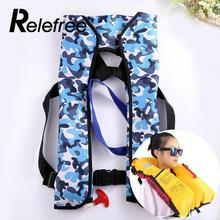 Relefree Automatic Inflatable Life Jacket Adult Swimwear Boating Swimming Water Sports