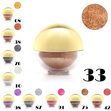Color Shimmer Pearl Eyeshadow Powder Eye Shadow Ball Pigment Make-up Tool